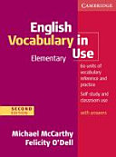 English Vocabulary in Use   Elementary  Edition with Answers PDF