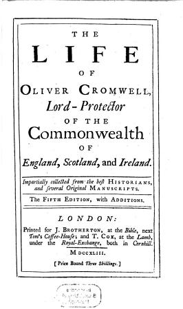 The Life of Oliver Cromwell PDF