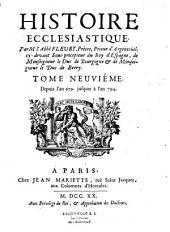 Histoire ecclésiastique: Volumes10à11