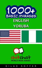 1001+ Basic Phrases English - Yoruba