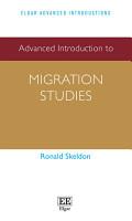 Advanced Introduction to Migration Studies PDF