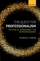 The Quest for Professionalism PDF