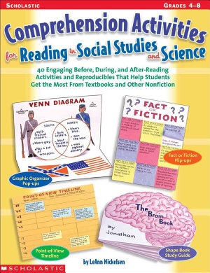 Comprehension Activities for Reading in Social Studies and Science PDF
