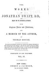 Works of Jonathan Swift: Volume 4