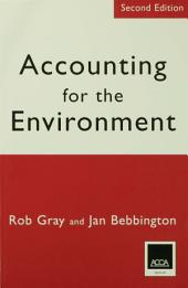 Accounting for the Environment: Second Edition