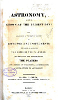 Astronomy  as it is Known at the Present Day PDF