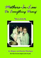 Mothers in Law Do Everything Wrong  MILDEW  PDF