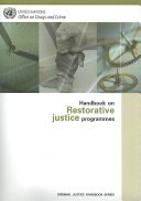 Download Handbook on Restorative Justice Programmes Book