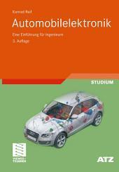 Automobilelektronik: Eine Einführung für Ingenieure, Ausgabe 3