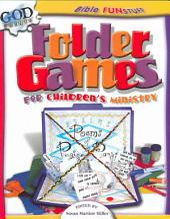 Folder Games for Children's Ministry