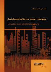 Sozialorganisationen besser managen: Evaluation einer Mitarbeiterbefragung