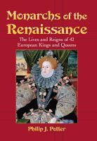 Monarchs of the Renaissance PDF