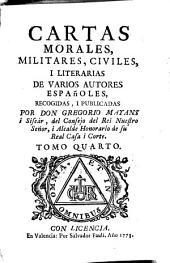 Cartas morales, militares, civiles y literarias de varios autores españoles