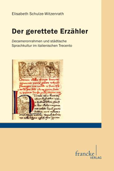 Der gerettete Erz  hler PDF