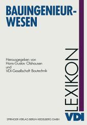 VDI-Lexikon Bauingenieurwesen