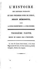 L'Histoire des derniers Pharaons et des premiers rois de Perse selon Hérodote: Volume2