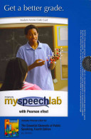 Essential Elements of Public Speaking Myspeechlab With Pearson Etext Student Access Code Card Book