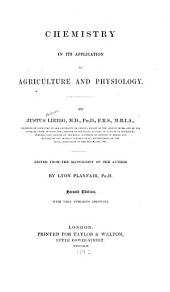 Chemistry in Its Application to Agriculture and Physiology