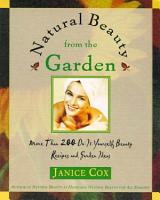 Natural Beauty From The Garden PDF
