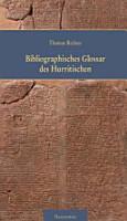 Bibliographisches Glossar des Hurritischen PDF