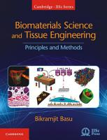 Biomaterials Science and Tissue Engineering PDF