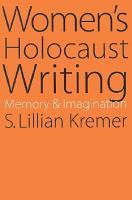 Women s Holocaust Writing PDF