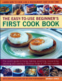 Easy to Use Beginner s First Cook Book Book