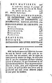 L'Esprit des journaux franc̜ais et étrangers: Volume59