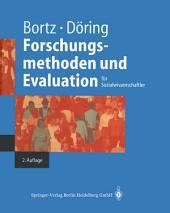 Forschungsmethoden und Evaluation: Ausgabe 2