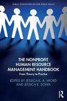 The Nonprofit Human Resource Management Handbook PDF