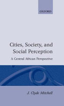 Cities, Society, and Social Perception