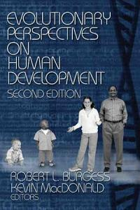 Evolutionary Perspectives on Human Development Book