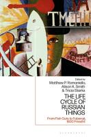 The Life Cycle of Russian Things PDF