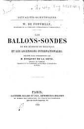 Les ballons-sondes de mm. Hermite et Besançon et les ascensions internationales