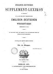 Englisch deutsches Supplement Lexikon PDF