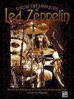 Drum Techniques of Led Zeppelin PDF