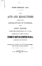 General Acts and Resolutions Adopted by the Legislature of Florida