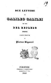Miscellanea storica e letteraria edita con note per cura di P. B: Due lettere di Galileo Galilei ed una del Keplero inedite. 2