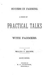 Success in Farming: A Series of Practical Talks with Farmers