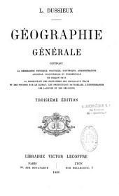 Géographie générale...