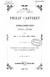 Philip Carteret in Nederlandsch-Indië (1767-1768)