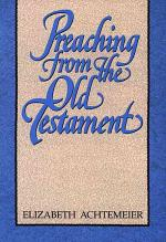 Preaching from the Old Testament