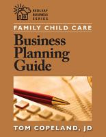 Family Child Care Business Planning Guide PDF