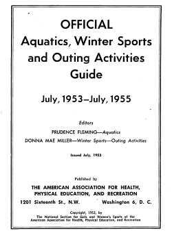 Official Aquatic Guide with Official Rules for Intramural  Interscholastic  Intercollegiate and Telegraphic Swimming Meets     PDF