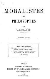 Moralistes et philosophes