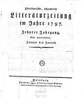 Oberdeutsche  allgemeine Litteraturzeitung PDF