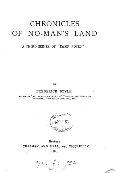Download Chronicles of No man s Land Book