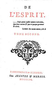 De l'esprit [by C.A. Helvétius].