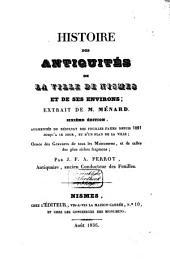 Histoire des antiquités de la ville de Nismes et de ses environs