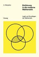Einf  hrung in die moderne Mathematik PDF